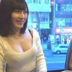ハーフ顔の美人妻ナンパ!目が綺麗な巨乳奥さんの激イキSEX!!