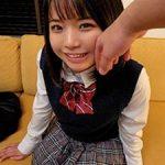 ちっぱい制服美少女のマ●コに『ナマ』挿入!